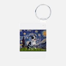 Starry Night/ Australian Catt Keychains