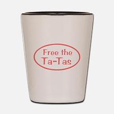Free the Ta-Tas Shot Glass