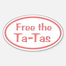 Free the Ta-Tas Decal