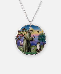 St Francis & Aussie #2 Necklace