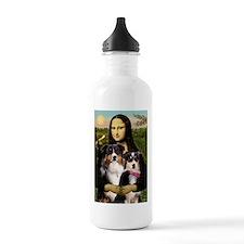 Mona's 2 Tri Aussies Water Bottle