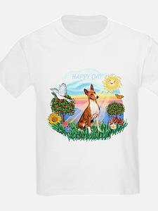 Happy Day Basenji T-Shirt