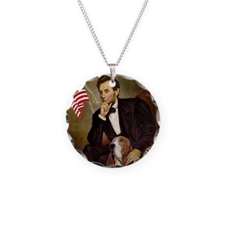 Lincoln & Basset Necklace Circle Charm