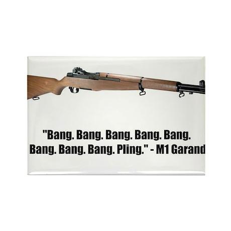 M1 Garand Rectangle Magnet (100 pack)