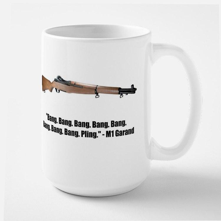 M1 Garand Large Mug