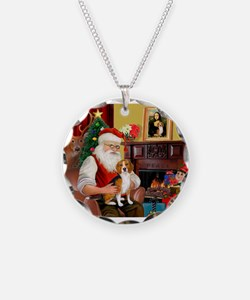 Santa's Beagle Necklace