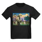 Saint Francis / Beagle Kids Dark T-Shirt