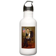 Lincoln's Beagle Water Bottle