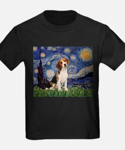 Starry Night & Beagle Pup T