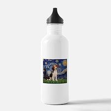 Starry Night & Beagle Pup Water Bottle