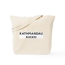 Kathmandau Rocks! Tote Bag