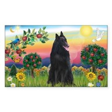 Bright Country & Belgian Shepherd Decal