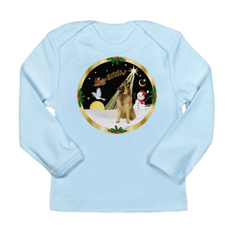 Night Flight/Tervuren Long Sleeve Infant T-Shirt