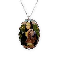 Mona & her Bloodhound Necklace