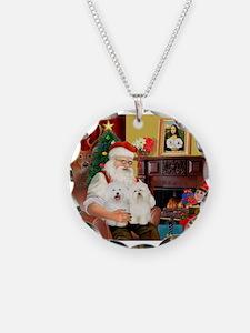Santa's Bolognese pair Necklace