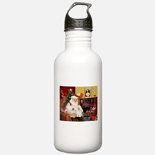 Santa's Bolognese pair Water Bottle