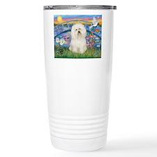 Lily Pond/Bolognese Travel Mug