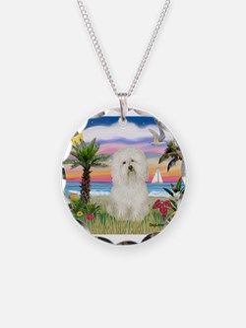 Palms & Bolognese Necklace