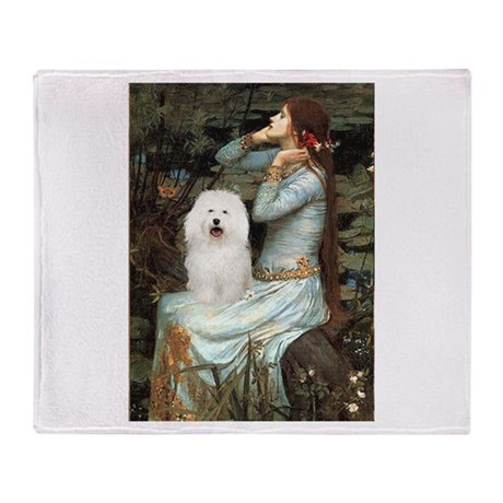 Ophelia & Bolognese Throw Blanket