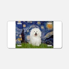 Starry Night Bolognese Aluminum License Plate