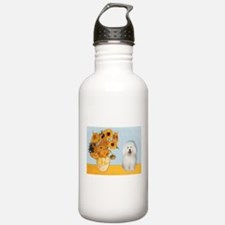 Sunflowers/Bolognese Water Bottle