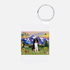 Mt Country & Border Collie Keychains