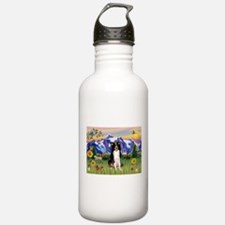 Mt Country & Border Collie Water Bottle