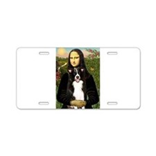 Mona/Border Collie Aluminum License Plate