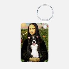 Mona/Border Collie Keychains