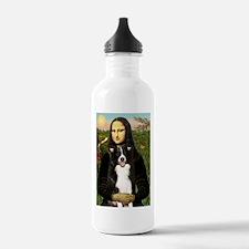 Mona/Border Collie Water Bottle