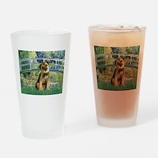 Bridge / Border Terrier Drinking Glass