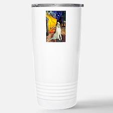 Terrace Cafe & Borzoi Travel Mug