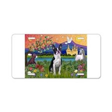 Fantasy Land/Boston T Aluminum License Plate