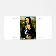 Mona Lisa/Boston T Aluminum License Plate