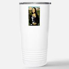 Mona Lisa/Boston T Stainless Steel Travel Mug