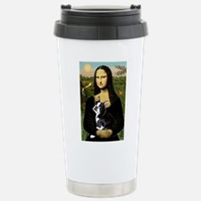 Mona Lisa/Boston T Travel Mug