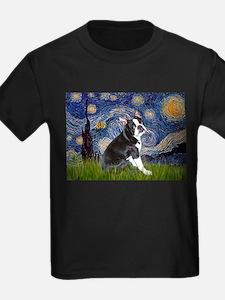 Starry Night/Boston Terrier T