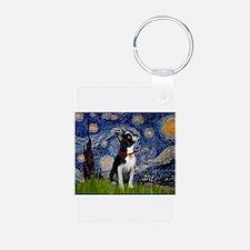 Starry Night & Boston Keychains