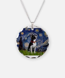 Starry Night & Boston Necklace