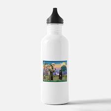 St Francis & Bouvier Water Bottle