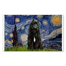 Starry Night Bouvier Decal