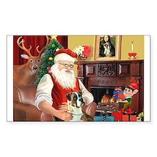Santa's Boxer (2n) Decal
