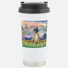 Cloud Angel & Boxer Travel Mug
