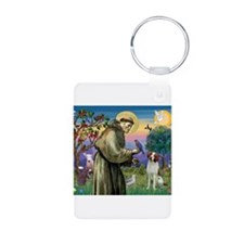 St Francis/Brittany Keychains