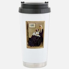 Mom and her Brittany Travel Mug