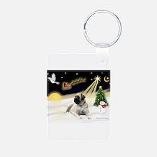 Night Flight/Bull Mastiff Keychains
