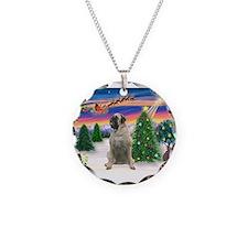 Take Off1/Bull Mastiff Necklace Circle Charm