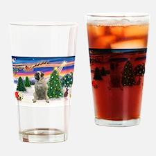 Take Off1/Bull Mastiff Drinking Glass