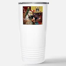 Santa's Bullmastiff #7 Travel Mug
