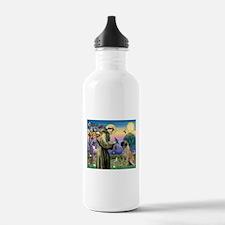 St Francis / Bullmastiff Water Bottle